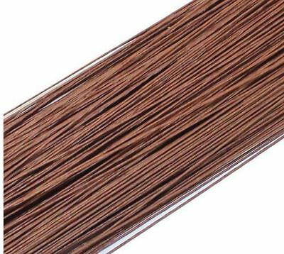 Quality Paper Covered Wire For DIY/nylon Flower Accessory 50Pcs 0.45mm 60CM
