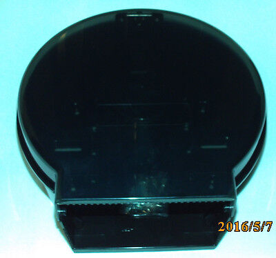 ***Stefco Jumbo Tissue Dispenser Smoke/Black***