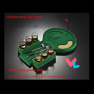 12 in 1 Golf Drinking Game Set Punish for Fun KTV Bar Party Drink Games Toys Hot