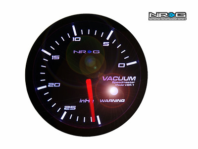 Universal NRG High Performance Vacuum 60mm Smoke Series Meter Gauge