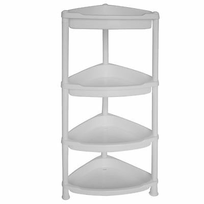Corner Tier Shelf 4 Bathroom Shower Storage Rack Caddy Bath Shelves Best Living