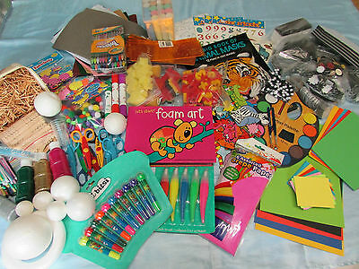 Bulk Kid's Arts & Craft Kit - Huge number of items.
