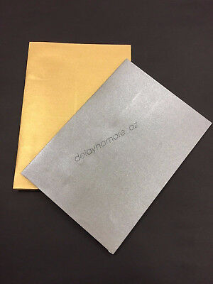 25x Gold / Silver Coloured Colour Envelopes Event Wedding Birthday Invitation C6