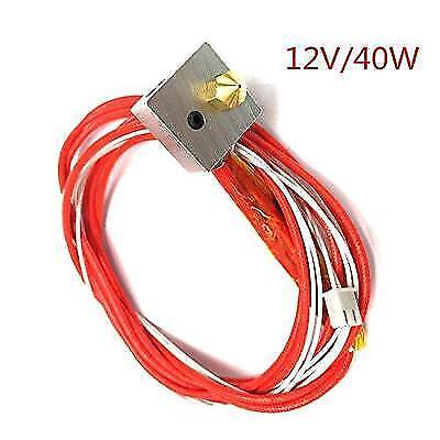 HICTOP Assembled Extruder Part Hot End for RepRap 3D Printer 1.75mm Filament