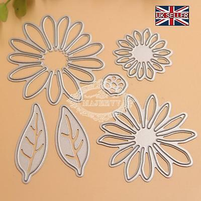 Chrysant Flower Metal Die Cutting Embossing Stencils for DIY Scrapbooking Album