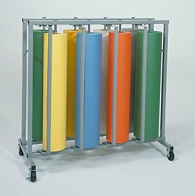 "Bulman 36"" Vertical 8 Roll  Paper Rack"