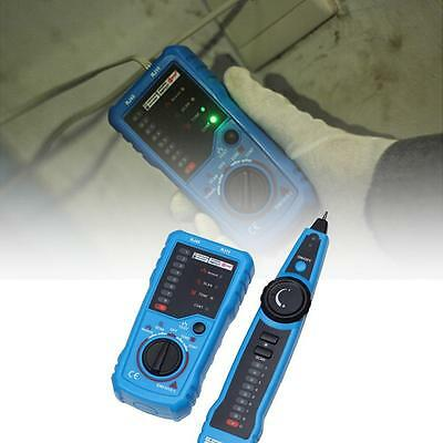Telephone Network Cable Wire Line LAN Cable RJ45 Tracker Toner Tracer Tester DG^