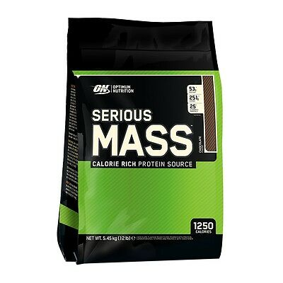 Serious Mass 12 lbs (5443g) EU - Optimum Nutrition - Gainer, Ganador de peso