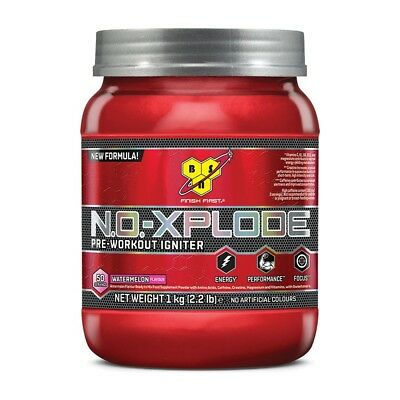 N.O.-XPLODE 3.0 - 50 servings - BSN - Pre Workout con cafeina