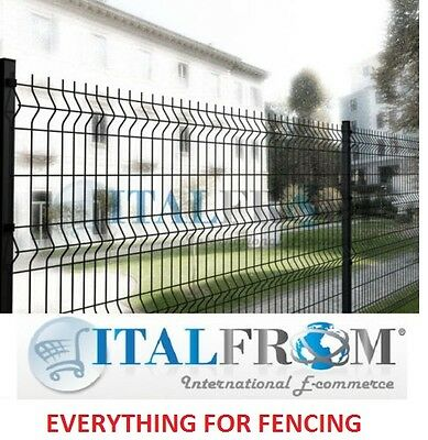 fence panel railing wire mesh anthracite – various heights