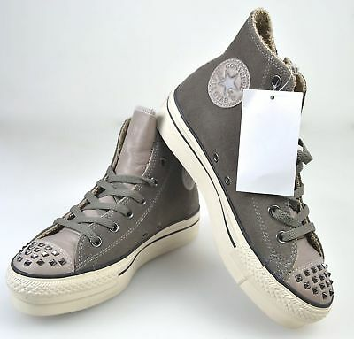 d32d20069736 Converse All Star Woman Sneaker Shoes With Wedge Walnut Grey Suede Code  541283C