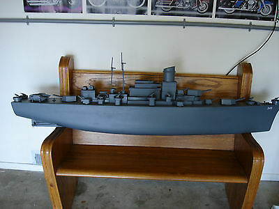 Wooden RC BATTLE SHIP MODEL