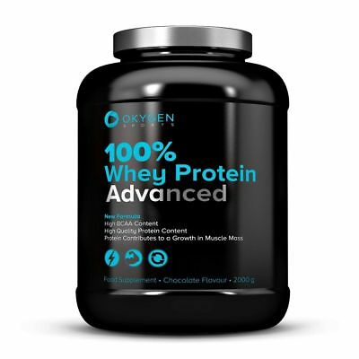 100% Whey Protein Advanced 2000 g - Okygen Sports - Proteina Whey suero de leche