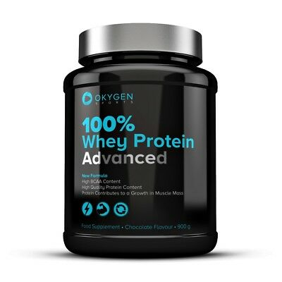100% Whey Protein Advanced 900g - Okygen Sports - Proteina Whey, Suero