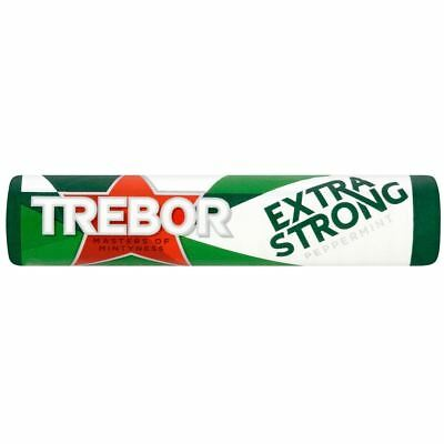 Trebor Extra Strong Peppermints Roll 41.3g