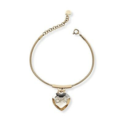 Bracciale OPS!Objects Donna Shiny Cuore beige  Nuovo OPSBR-424