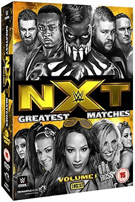 Wwe: Nxt Greatest Matches - Volume 1  DVD NEW