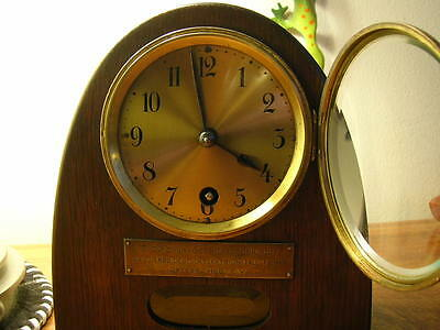 VERY RARE ANTIQUE GUSTAV BECKER CLOCK 8 inches Tall