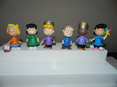 The Peanuts Charlie Brown PVC Figure Lot Figures