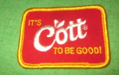 Vintage Small Cott Soda Patch Delivery Driver Uniform New Old Stock *SHIPS FREE*