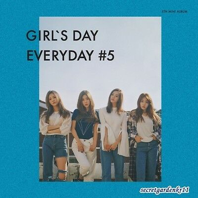 GIRLS DAY EVERDAY #5 5th Mini Album : CD+Photocard+Poster+Gift Photo,New Sealed