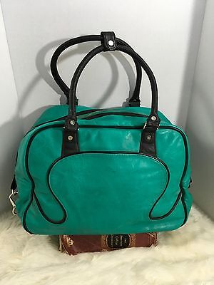 Lululemon Athletica Gym Travel Duffle Tote Bag Turquoise Large