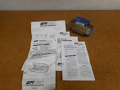 GPI G2B15N09GMB Industrial Grade Electronic Digital Meter Flowmeter New No Box