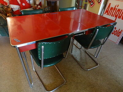 Vintage 50's Kitchen Table And Chairs