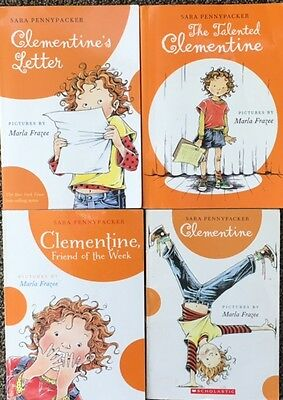 Clementine Lot Of 4 Books By Sara Pennypacker FREE SHIPPING
