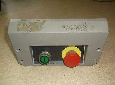 Hobart Model UWS Meat Packer Start/Stop Button Assembly P9B01FN P9PDNF0