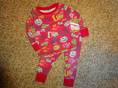 Baby Boys 12-18 Months Old Navy  Pajama's 2 Piece Set Gently Used