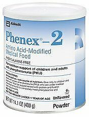 Phenex-2 Amino Acid-Modified Unflavored Medical Food - 400Gm X 6 by Phenex