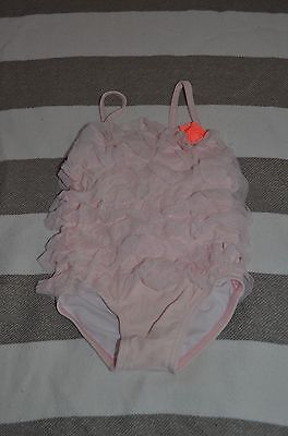 CARTERS Pink Ruffle Swimsuit 18 Months