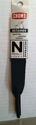 Chums Classic N. Blue Neoprene Eyewear Retainer/Sunglass Cord Holder, FREE SHIP