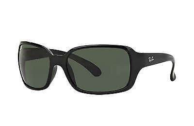 Ray-Ban RB4068 601 Black Frame/Green Classic G-15 Lens 60mm