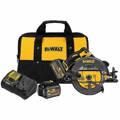 DEWALT DCS575T2 FLEXVOLT 60-Volt MAX 7-1/4 in. Circular Saw with Brake Kit