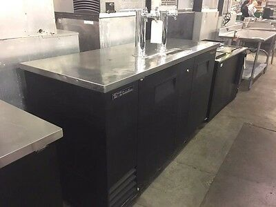 True Tdd-3; 2 - Door; 3 - Tap Kegerator   #11629
