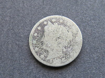 1886 5C Liberty Nickel Semi-Key Date AG (Lot #122)
