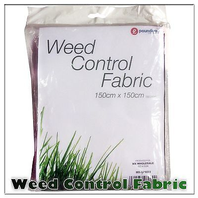 150cm x 150cm WEED CONTROL FABRIC MEMBRANE GROUND SHEET GARDEN