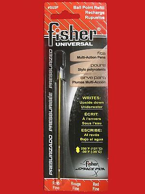 Fisher Space Pen - Refills - Fisher Universal Cartridge - Red Ink - Fine SU2F