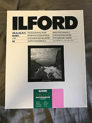 Ilford Multigrade FB Glossy Photo Paper (8 x 10 in.) 25 Sheets