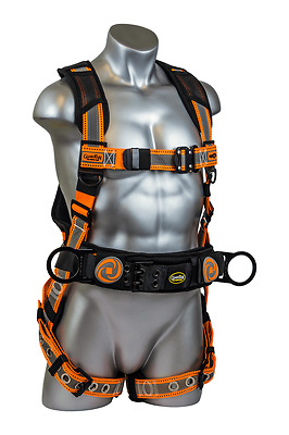Guardian 21061 Cyclone Reflective Construction Harness (M-L)