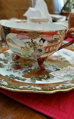 Vintage Chinese, cup and saucer