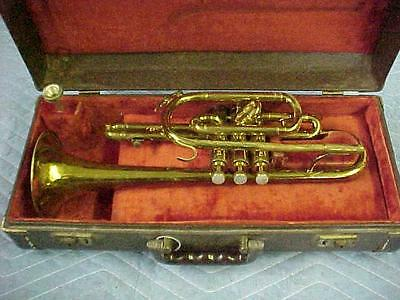 "Vintage American Standard Cornet by King Craftsmen ""as found"" Condition."