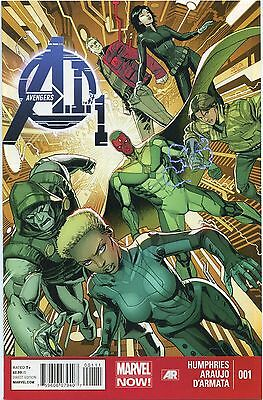 2013 Avengers A.i. #1& #2  ( Day After The Age Of Ultron )  Marvel Comics  Nm