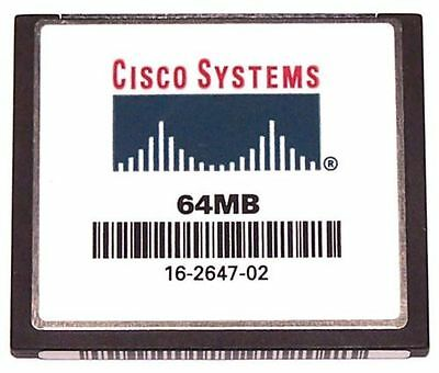 Cisco 64MB Flash or Cisco 64MB Compact Flash CF Card CCNA CCNP CCIE