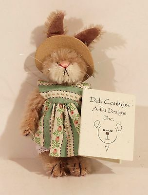 """Deb Canham """"Flo"""" Limited Edition 75 of 1,000 Bunnies Collection"""