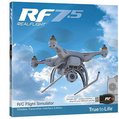 Realflight 7.5 with Wireless SLT Interface - A-GPMZ4534