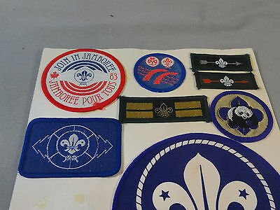 Canadian Jamboree Scouts Scout Badge Patch Hat Uniform Embroidery Collection