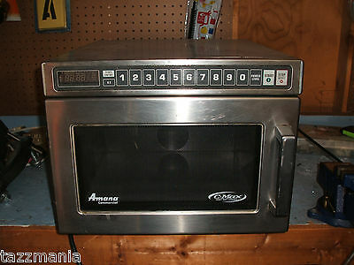 Amana 1200w HDC12A Restaurant Grade Commercial Stainless Steel Microwave Oven